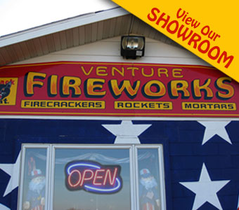 Venture Fireworks Showroom